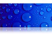 Blau, Tropfen, Wasser